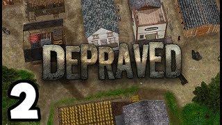 Depraved PC Gameplay 2019 - Wild West City Management Sim