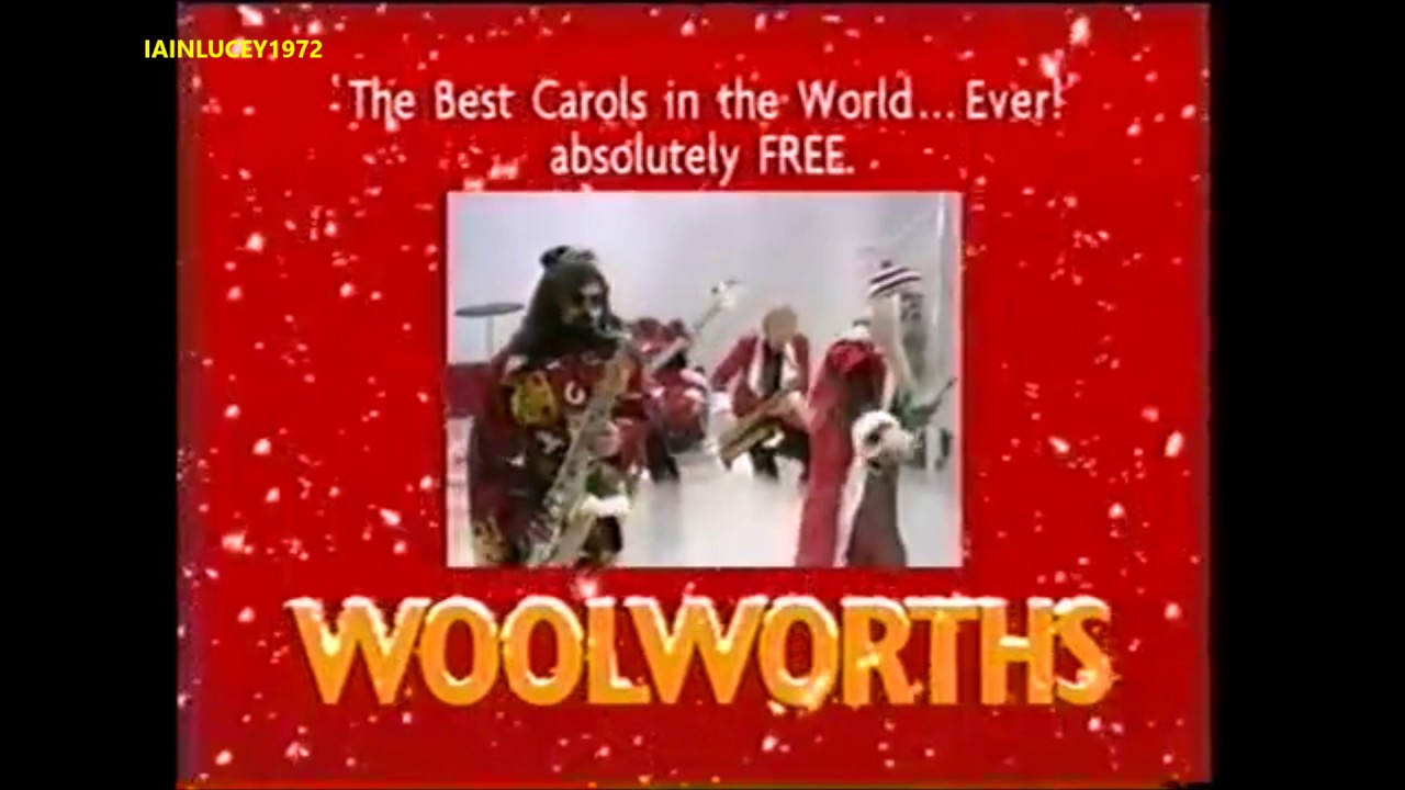 WOOLWORTHS TV ADVERT 1999 the best christmas album in the world ever ITV LONDON 1999 - YouTube