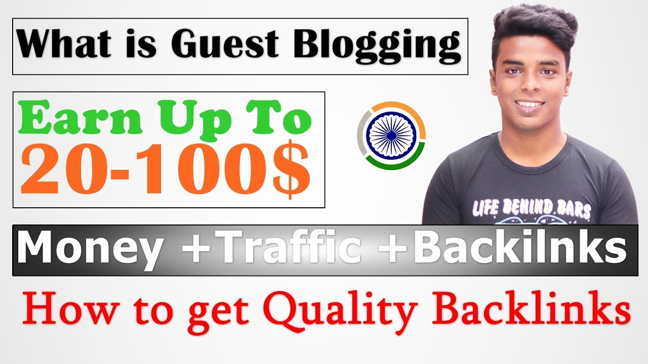 What Is Guest Blogging in SEO?  How To Make Money Through Guest Posting