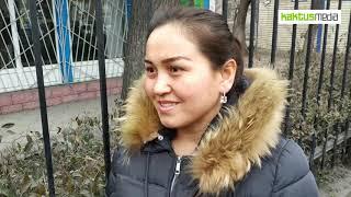 Опрос бишкекчан о штрафах за плевки.