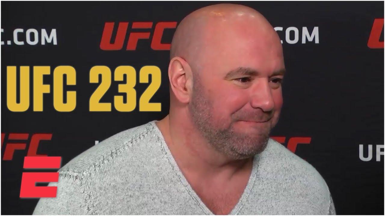 Dana White: Drama surrounding UFC 232 has helped business | MMA Sound