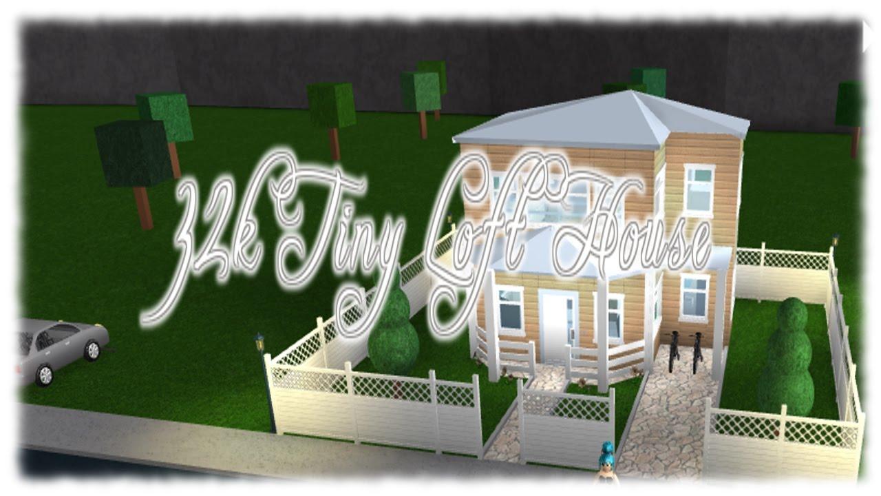 Roblox 32k Tiny Loft House Bloxburg Youtube