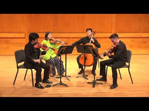 String Quartet No 1, Op 18, 1 Beethoven  Spring Chamber Music Festival SBU