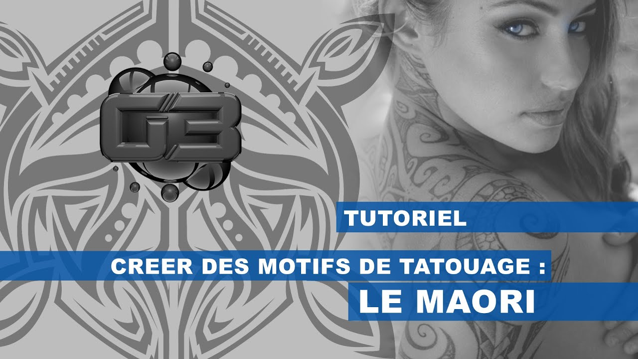 tuto tatoo cr er un tatouage maori youtube. Black Bedroom Furniture Sets. Home Design Ideas