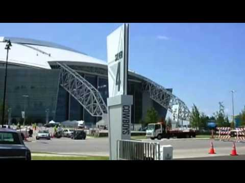 Dallas Cowboys Stadium Parking Map