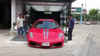 Ferrari F430 Wrapped 430 Scuderia Stripes Tony Wrap Supercar Society