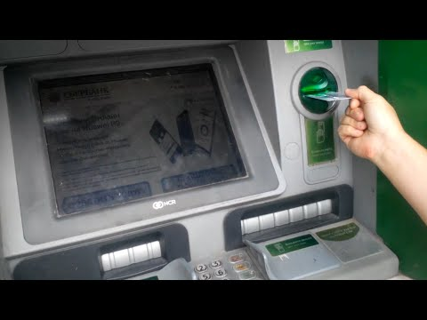 Как положить деньги на банковскую карту через терминал