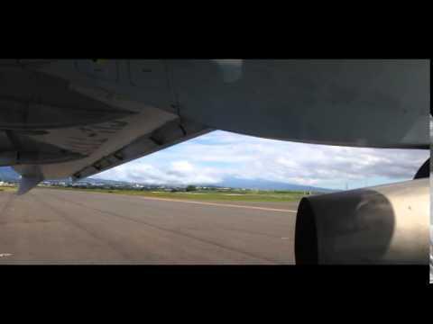 Cubana AN-158 take off Costa Rica MROC