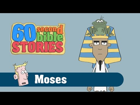 Moses and the Exodus | 60 Second Bible Stories | Ep5