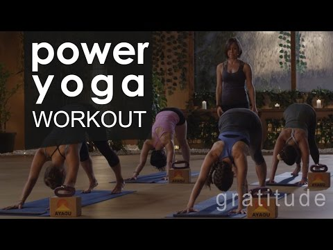 Full Body Power Yoga Workout  🙏  Gratitude