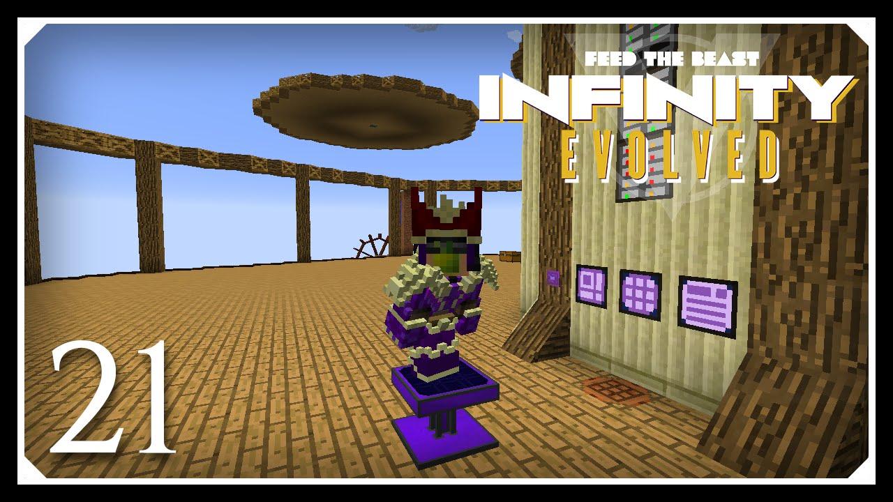 Minecraft Hypermine Ftb Infinity Evolved Ultimate Solar