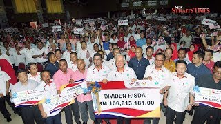 Risda to disburse RM106.8 mil in dividends this year: PM
