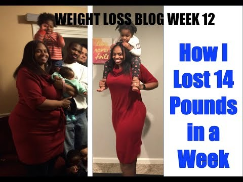 how-i-lost-14-pounds-in-a-week---my-weight-loss-journey-vlog-wk-12