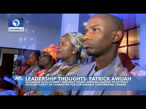 Young Leaders Assess Critical Challenges To Integration P.1 |Africa's Future Leaders|