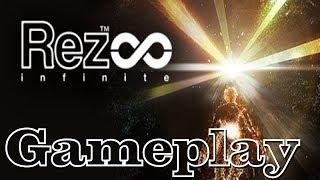 Rez Infinite | PC Indie Gameplay