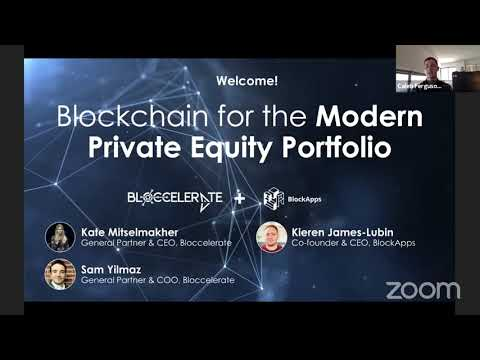[WEBINAR] Blockchain for the Modern Private Equity Portfolio - with Bloccelerate