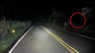 we caught the ghost boy on clinton road on camera...