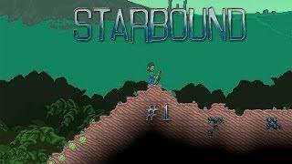 Забавный Starbound(1)****Короткое обучение