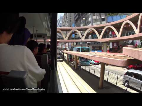 Hong Kong Tram Day Ride - Right View (Shau Kei Wan to Kennedy Town)