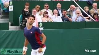 Best Of Novak Djokovic Funniest Moments danse best point   10Convert com clip