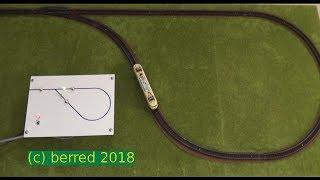 Kehrschleifensteuerung Modellbahn (Arnold Spur  N, analog) mit iR Lichtschranken