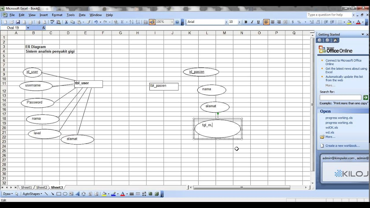 Part 2 - Cara Membuat ERD - ER Diagram + Database Mysql