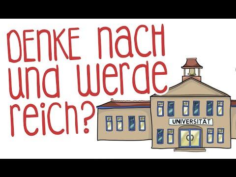 Denke nach und werde reich YouTube Hörbuch Trailer auf Deutsch