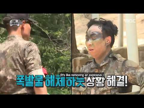 [INFINITE CHALLENGE] Human laughter bomb