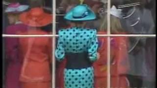 Princess Diana at Sarah Ferguson's wedding