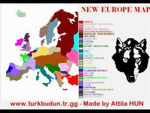 New Europe Map Youtube