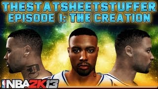 NBA 2K13 My Career - Episode 1 - The Creation of David Carter #TheStatSheetStufferReturns