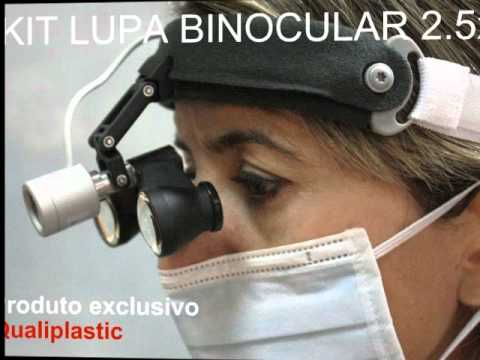 76c094bf54f94 KIT LUPA BINOCULAR 2.5x LUZ LED + CASE - YouTube