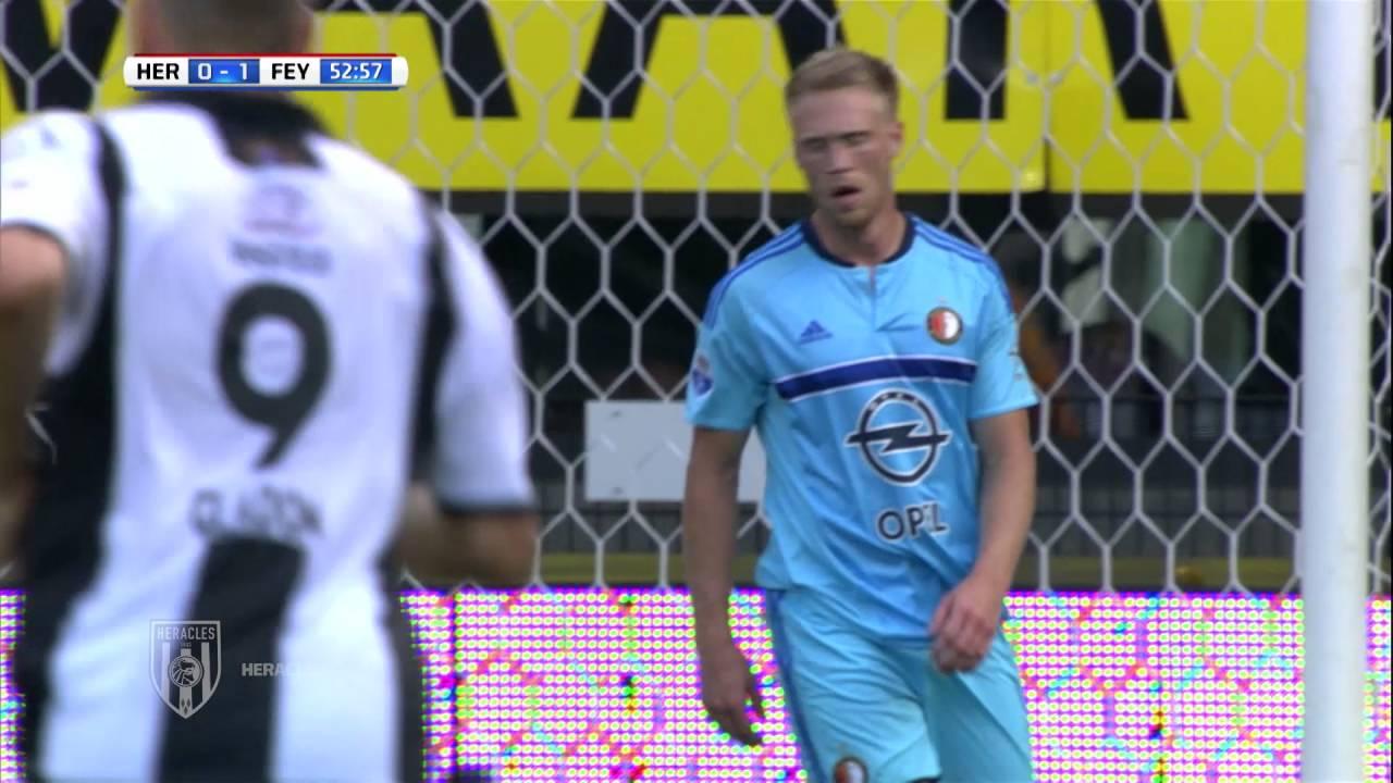 Heracles Almelo - Feyenoord 0-1 | 22-08-2016 | Samenvatting