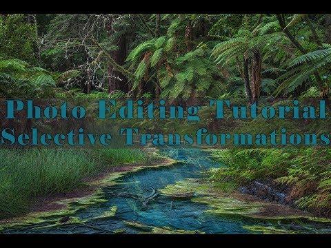 Photo Editing - Selective Image Transformations