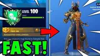 5 FASTEST Ways To GAIN XP + TIER UP in SEASON 7 FORTNITE (Season 7 Battle Pass Guide)
