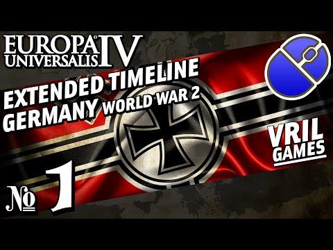 Europa Universalis 4   Extended Timeline   World War 2   Germany #1