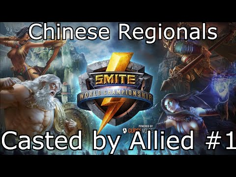 Smite [EnVy] Allied - Watching China Games #1