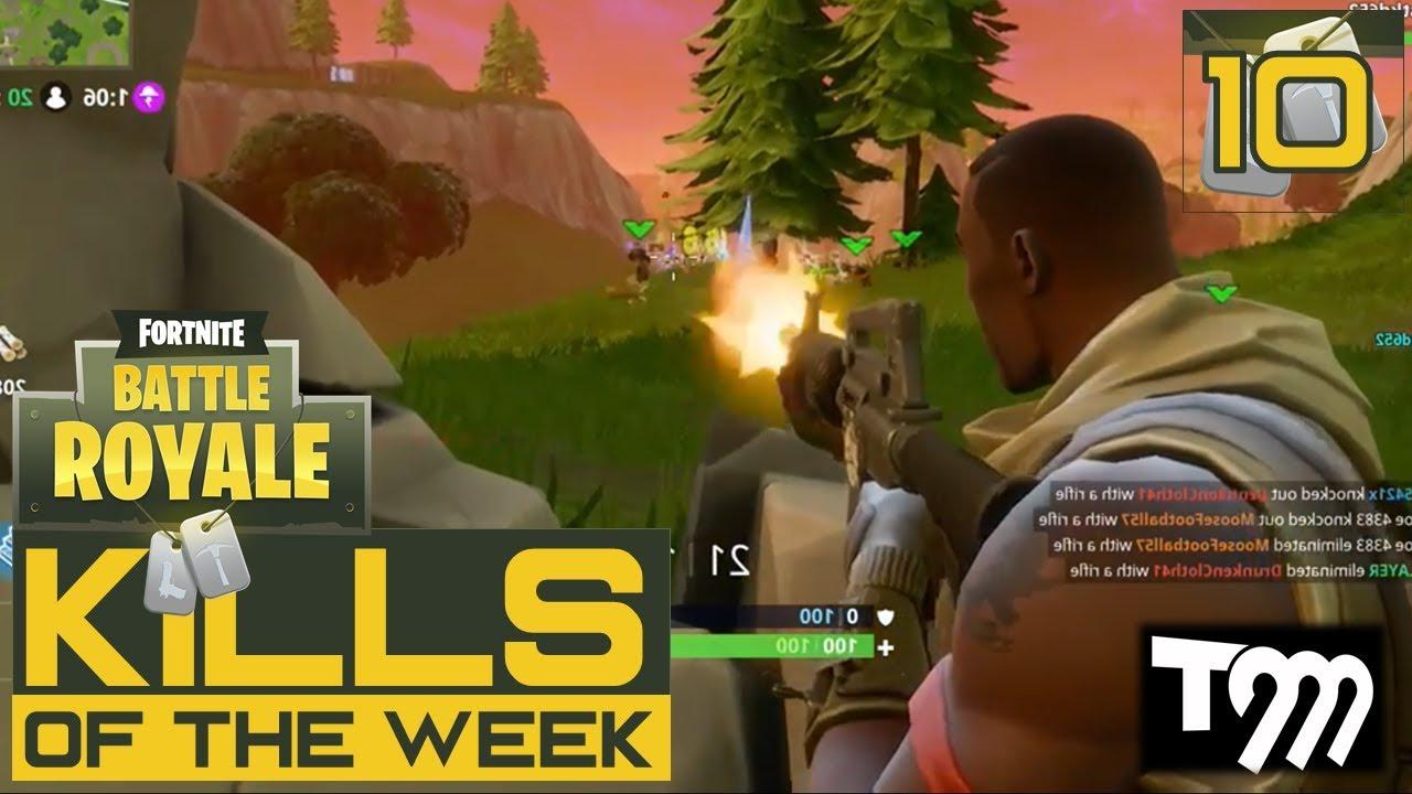 Fortnite Battle Royale Top  Kills Of The Week