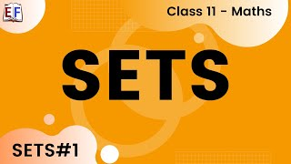 Maths Sets Part 1 (Set Concept and Conventions )  Mathematics CBSE Class X1