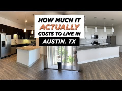 How Much It Actually Costs To Live In Austin!! | Apartment Touring In Austin, TX