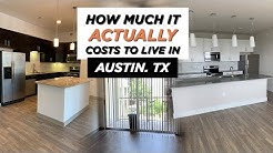 How Much It Actually Costs To Live In Austin!!   Apartment Touring in Austin, TX