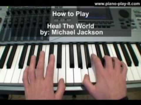 Heal The World Michael Jackson Piano Tutorial