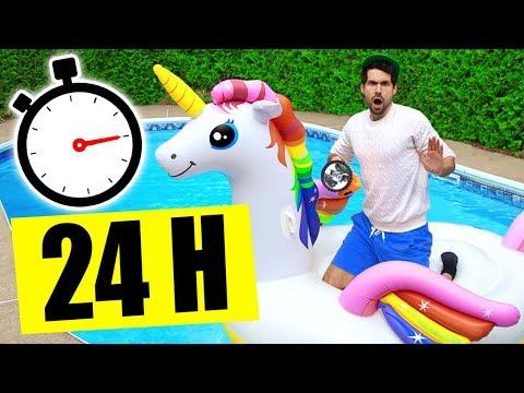 24H SUR MA LICORNE - RÉVEIL À 3H DU MATIN - HUBY
