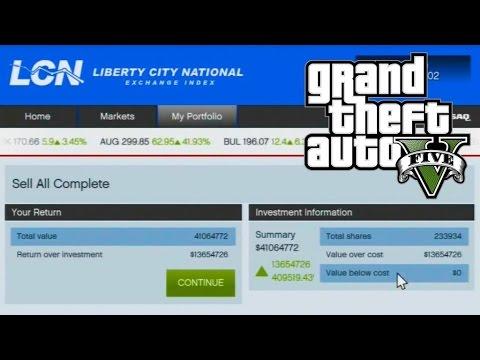 Comment gagner rapidement de l'argent avec la bourse sans triche ni cheat dans GTA 5 sur PS4?