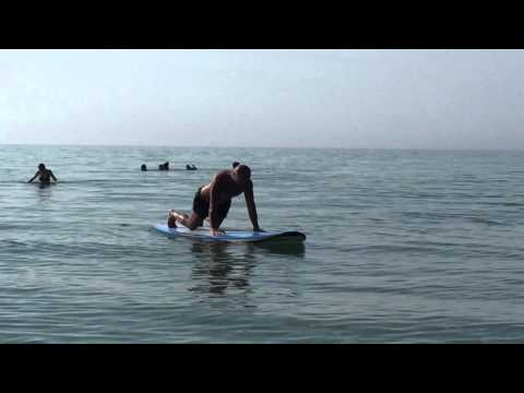 paddle board yoga Michigan usa