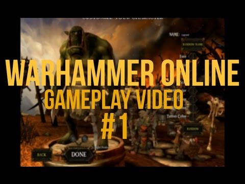 Warhammer Online | Gameplay Video | Part 1