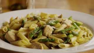 Pasta Recipes - How To Make Chicken And Asparagus Pasta