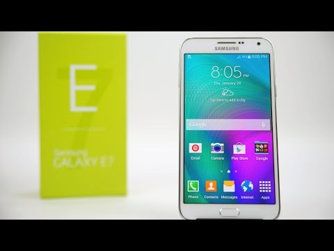 Samsung Galaxy E7 - Unboxing & Hands On