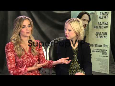 Bojana Novakovic and Adelaide Clemens on work...