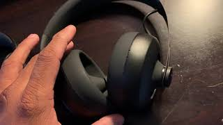 Comparing my Bose qc 35, skull candy crusher and nuraphone. Compare...